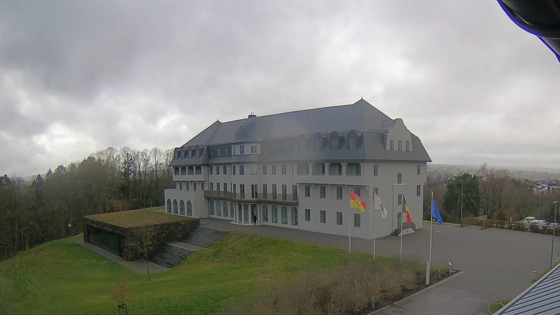 Bild: Live-Anzeige des Parlamentgebäudes